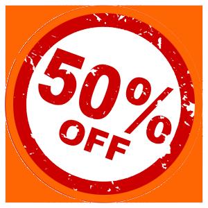 Giảm Giá Đến 50%